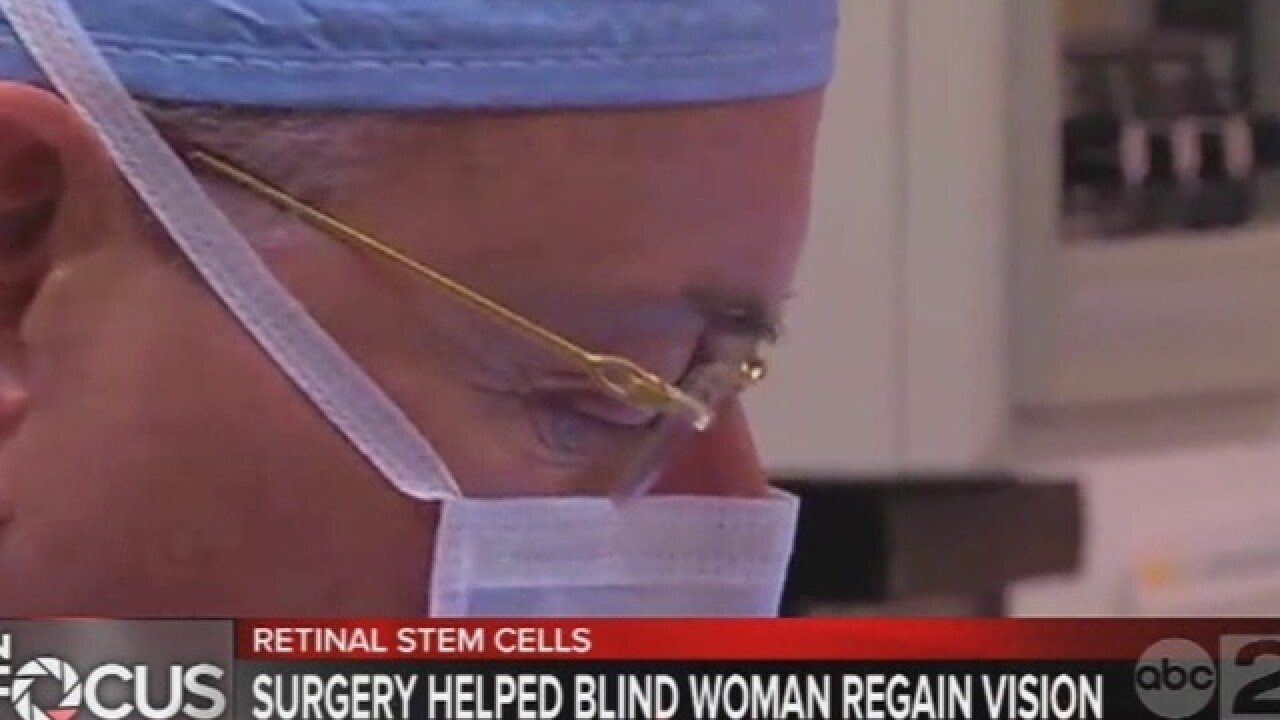 Fla. surgeon reversing blindness with stem cells