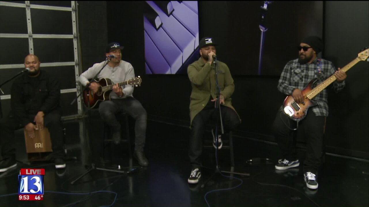Nattali Rize and Common Kings perform at Fox 13 ahead of sold out show in ParkCity