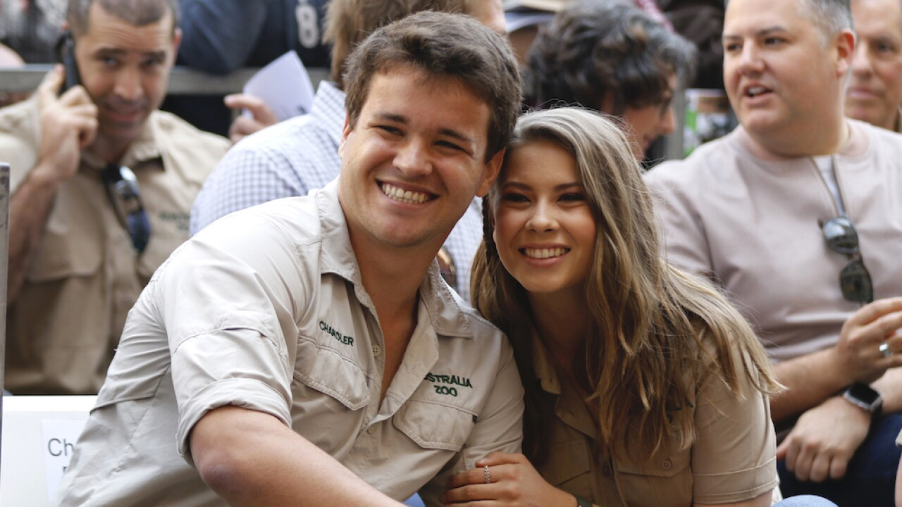 Bindi Irwin marries Chandler Powell in wedding without guests because of COVID-19 pandemic