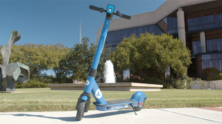 Blue Duck Scooter