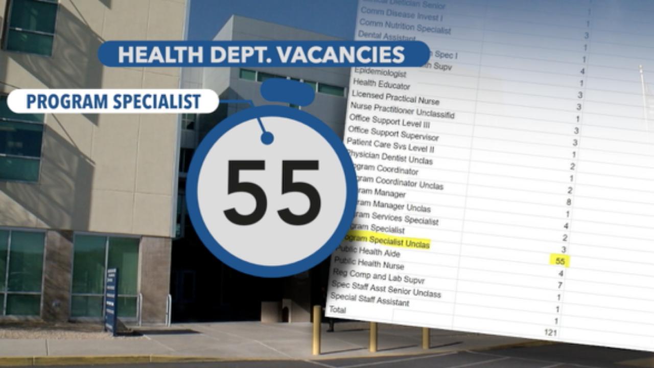 Pima County Health Dept. Vacancies