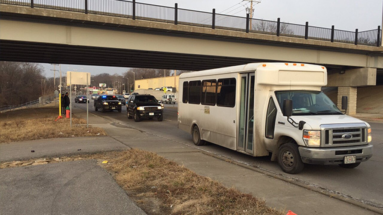 Injuries reported after KCMO school bus crashes