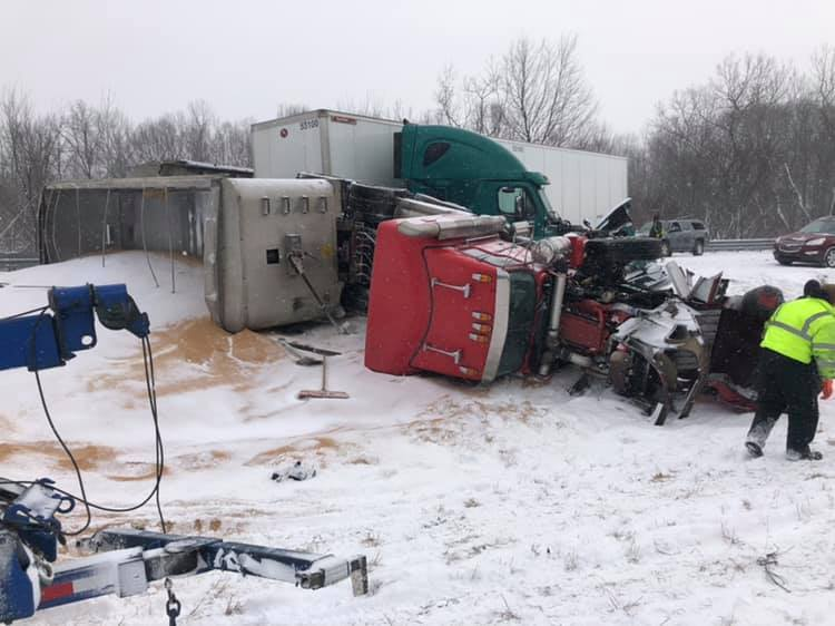 Photos: Sheriff: 'Avoid unnecessary travel' due to poor driving conditions