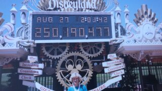 Disneyland honors woman's free admission ticket from 1985