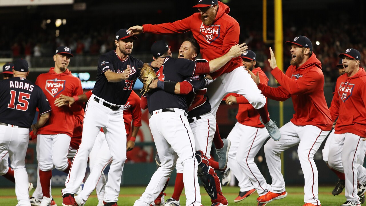 Washington to the World Series! Nationals sweep Cardinals to win NL Championship
