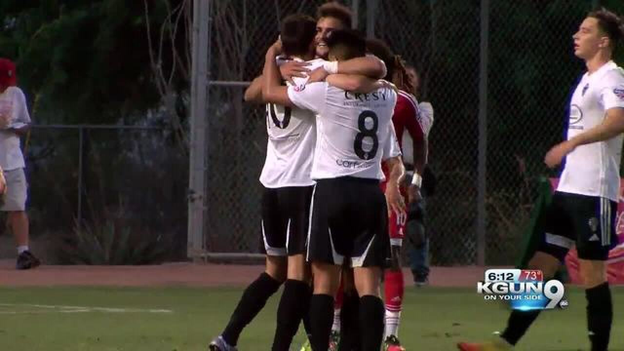 FC Tucson to become a professional soccer team