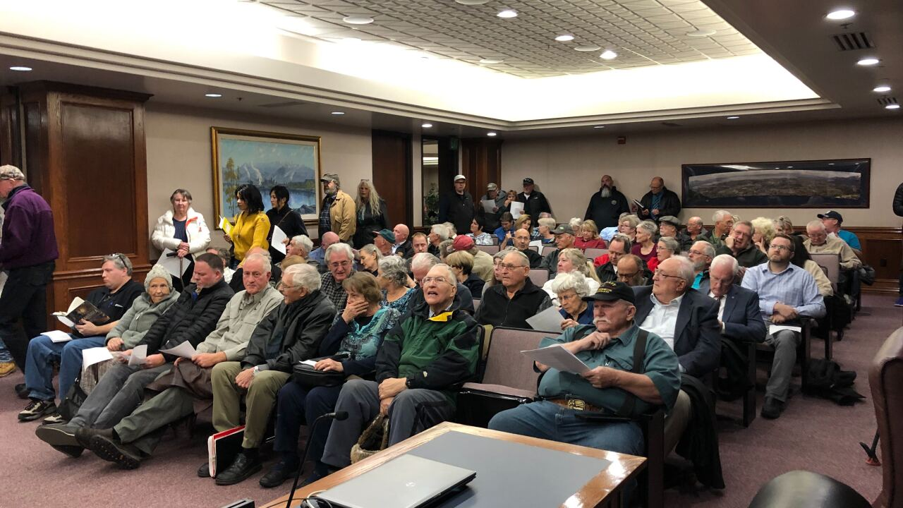 Utah County Residents overflow meeting regarding property tax increase; proposed budget
