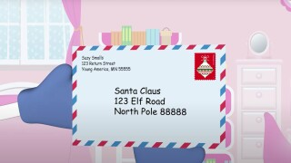 Operation Santa allows you to adopt children's letters, send them holiday gifts