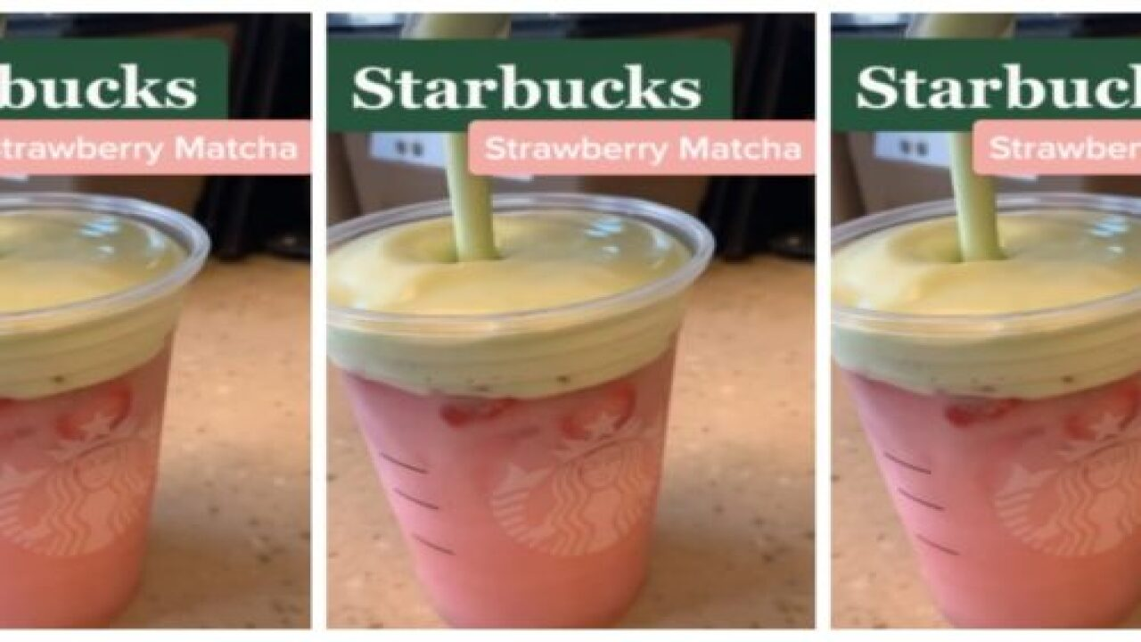 How To Order A Strawberry Matcha From Starbucks' Secret Menu