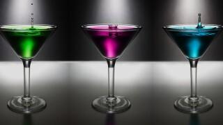 alcohol booze martini drink