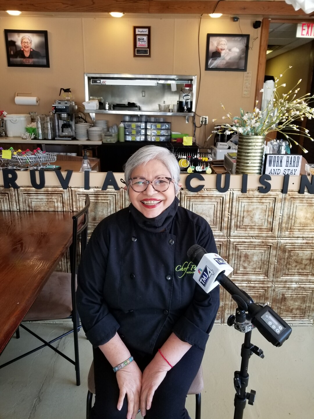 Chef Paz owner Maritza Paz said social media has helped her restaurant tremendously during the coronavirus pandemic.