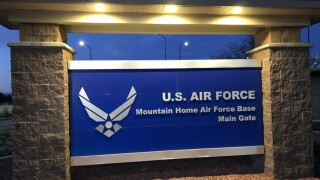 Lockdown at Mountain Home Air Force Base caused by false report of shots fired
