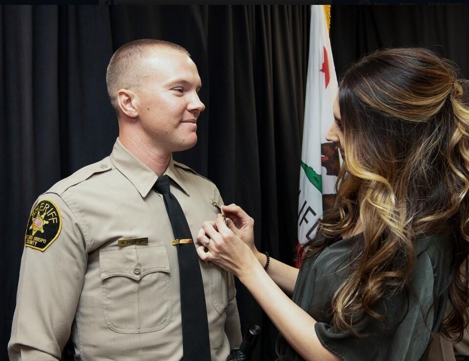 San Luis Obispo County Sheriff's Deputy Nicholas Dreyfus