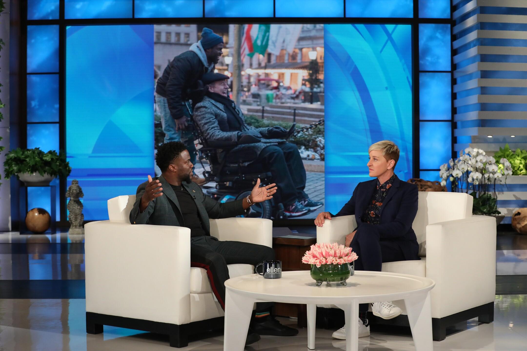 Photos: Ellen still wants Kevin Hart to host theOscars