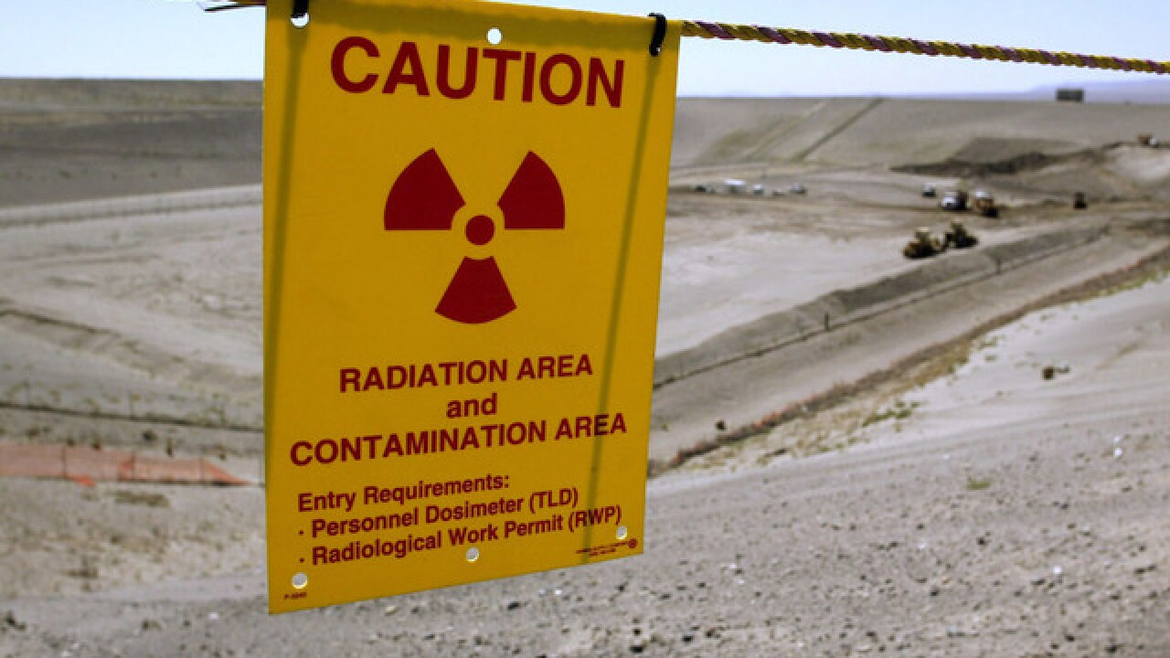 Workers evacuated at nuclear site in Washington