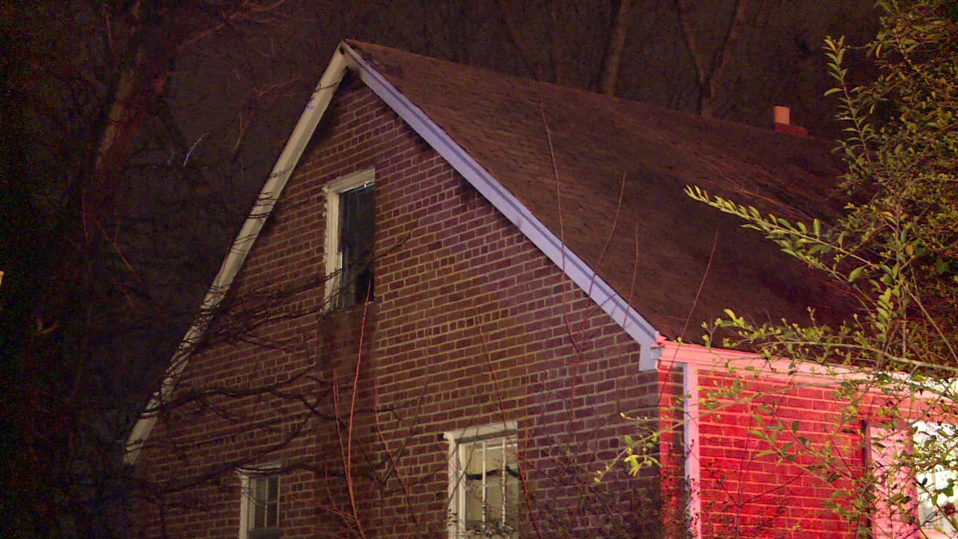 Photos: Firefighter injured in Bellemeade housefire