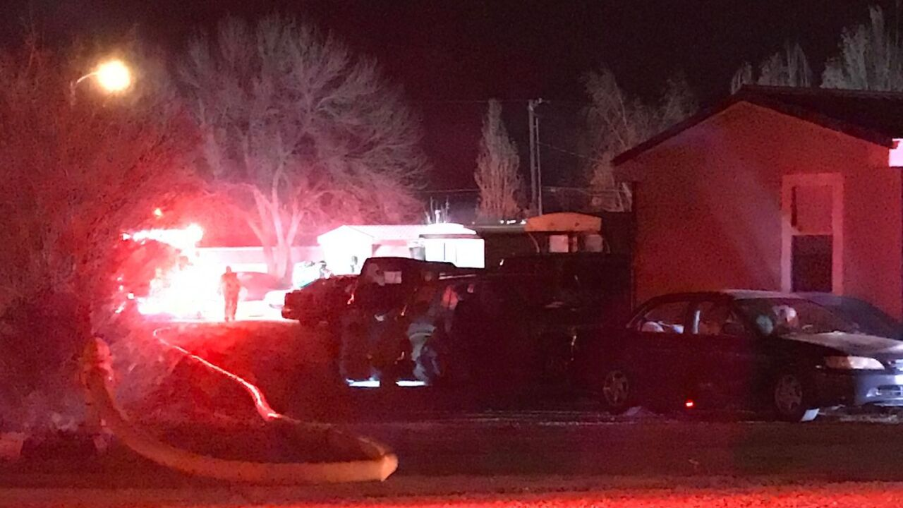 Overnight fire in Great Falls