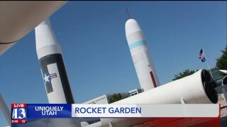 Uniquely Utah: 'Rocket Garden' celebrates important role Utah has played in the space industry