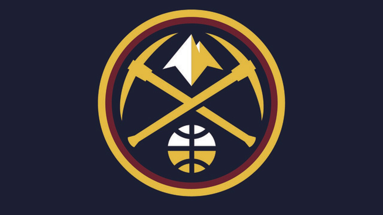 cheap for discount 63e0f 113d7 Denver Nuggets reveal new logo, uniform colors during NBA Finals