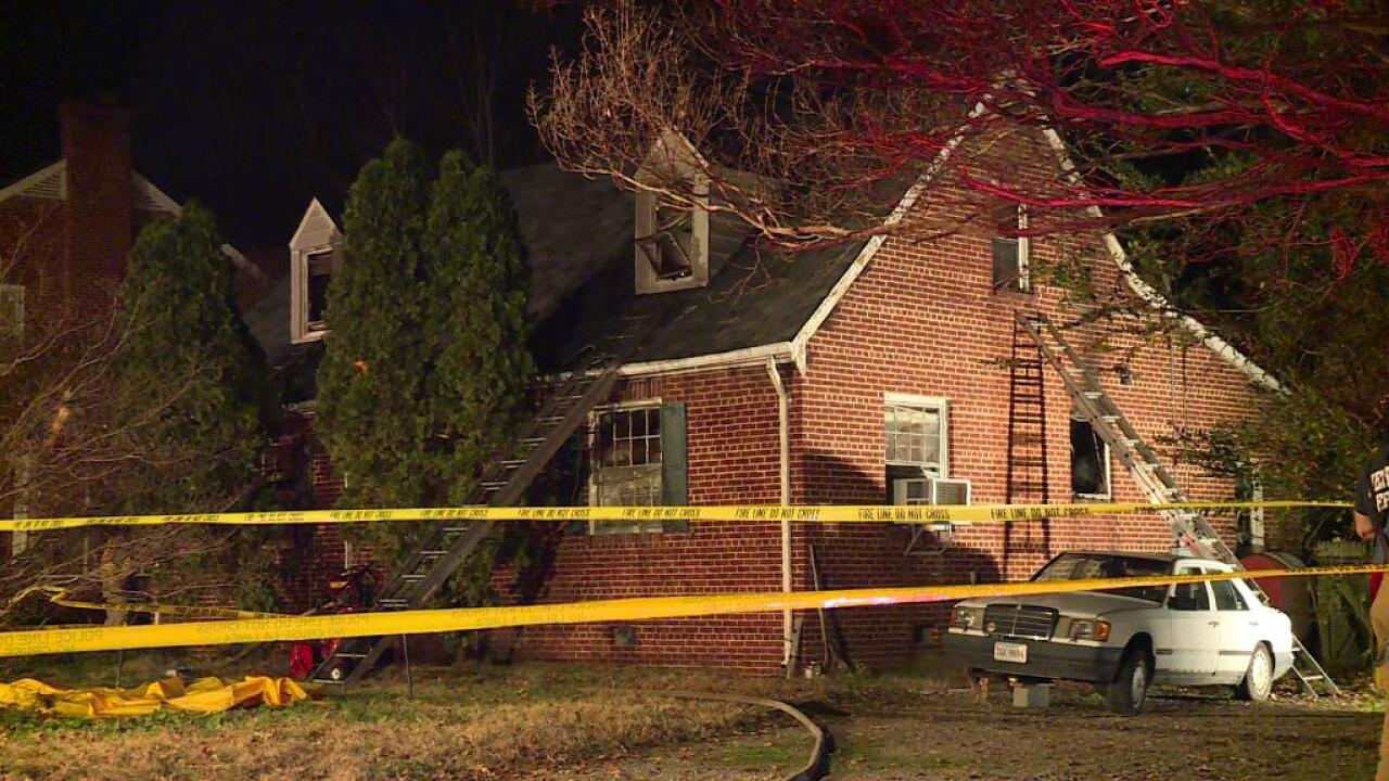 Firefighters pull 2 bodies from Lakeside housefire