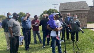 Activists presser Tyron Payton