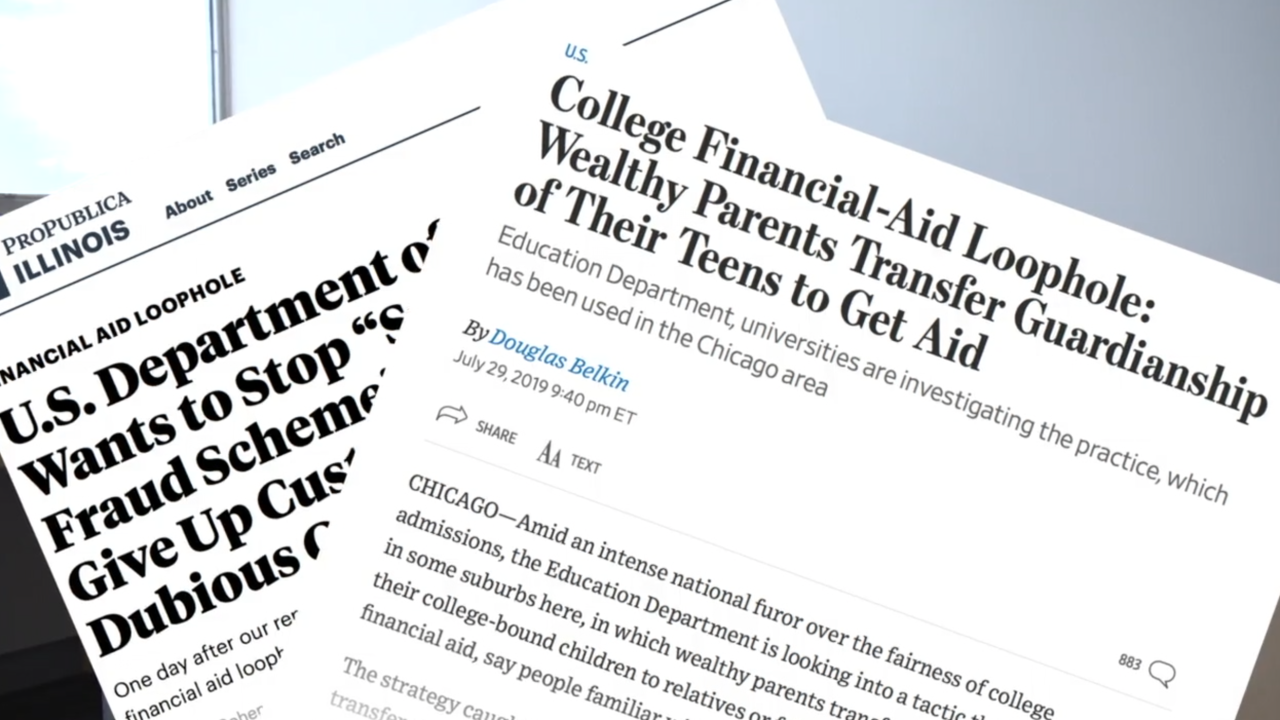 Reports raise concern about financial aid system loophole