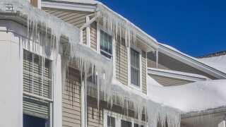 Winter Roof Leaking