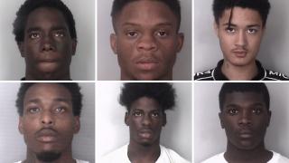 Bobby Petty Jr., Zion D. Riddick, Ricardo L. Spencer III, Daiquan K. Ervin, Dashawn D. Ferguson and Antoine J. Headen.png