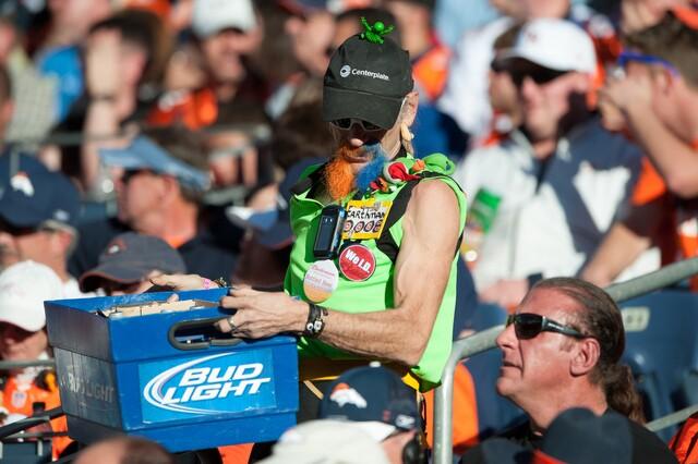 Captain Earthman through the ages: Rockies' most popular beer vendor