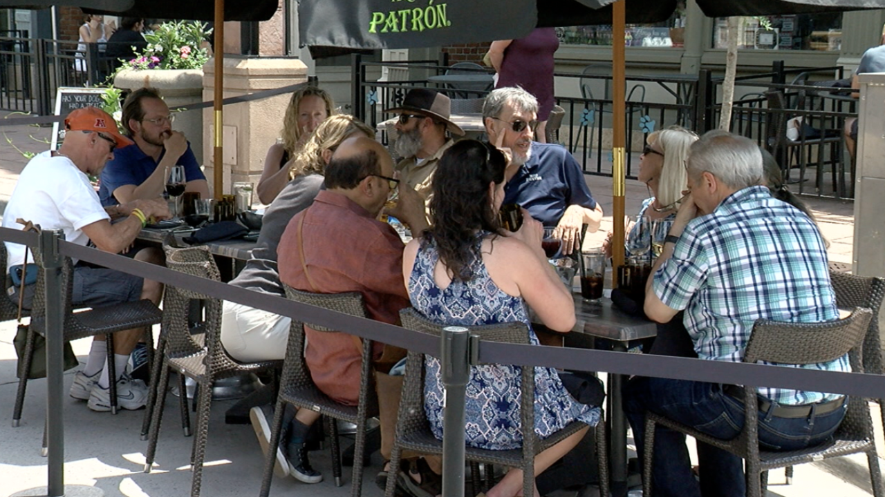 Outdoor Dining in Denver