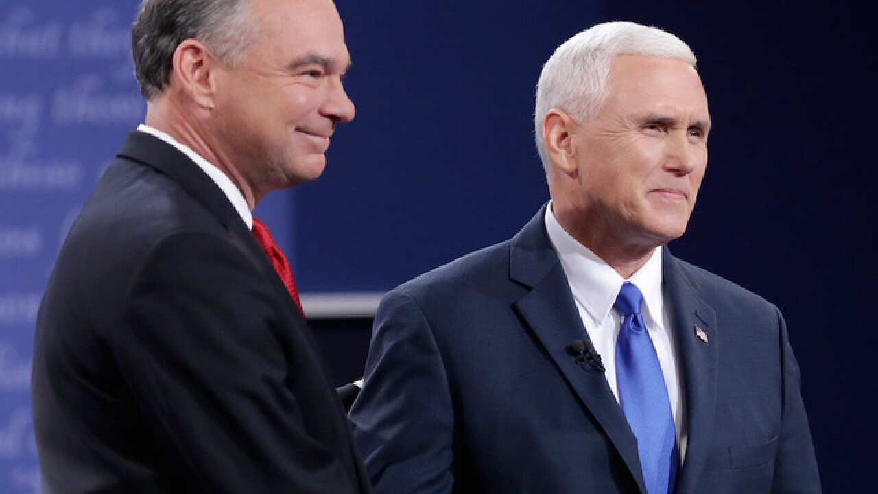 Vice presidential debate sees sharp drop-off in ratings