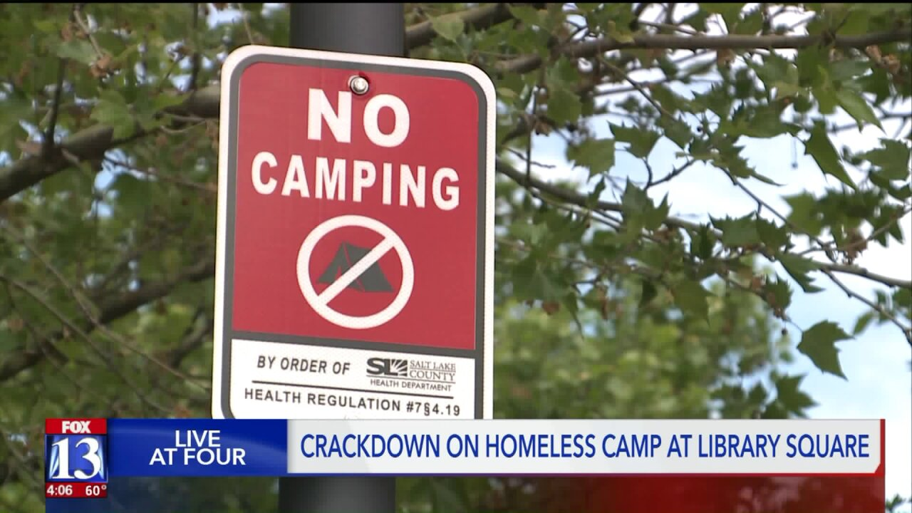 County to enforce 'no camping' rule and start homeless camp 'cleanups'