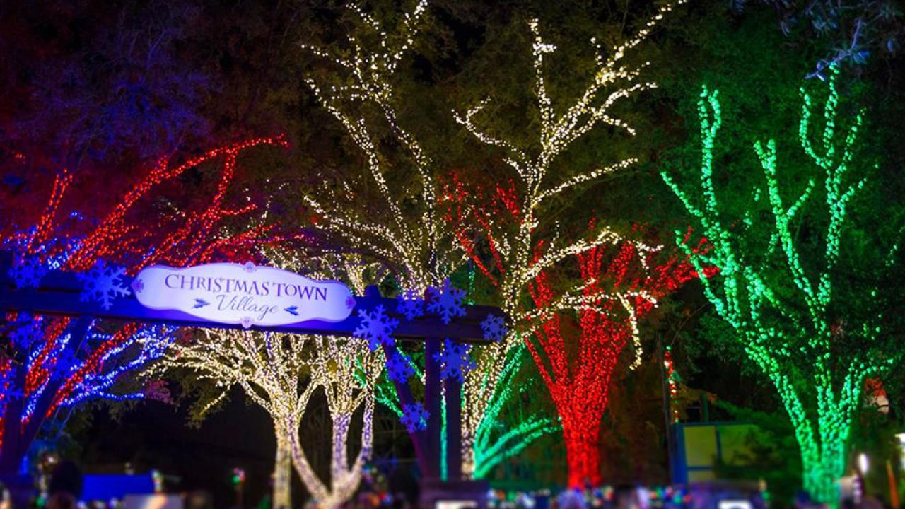 Busch Gardens Christmas Town Dates 2020 Busch Garden's Christmas Town nominated for USA Today's holiday