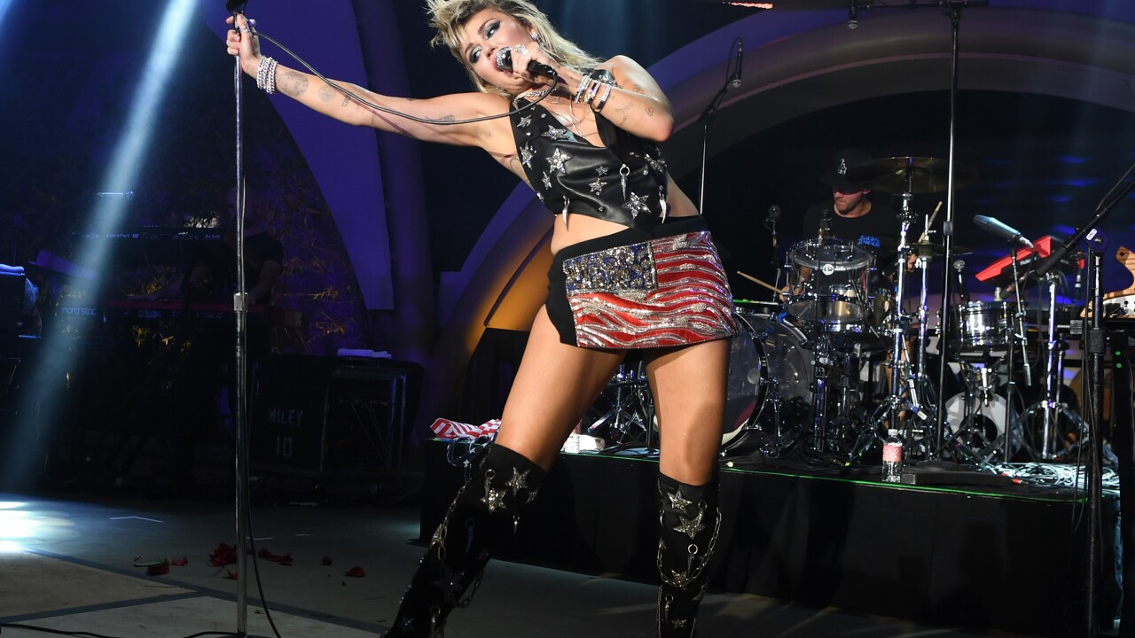 Resorts World Las Vegas Grand Opening Celebration At Ayu Dayclub With Miley Cyrus