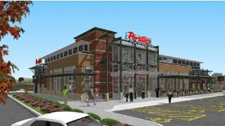 Portillo's Sterling Heights rendering