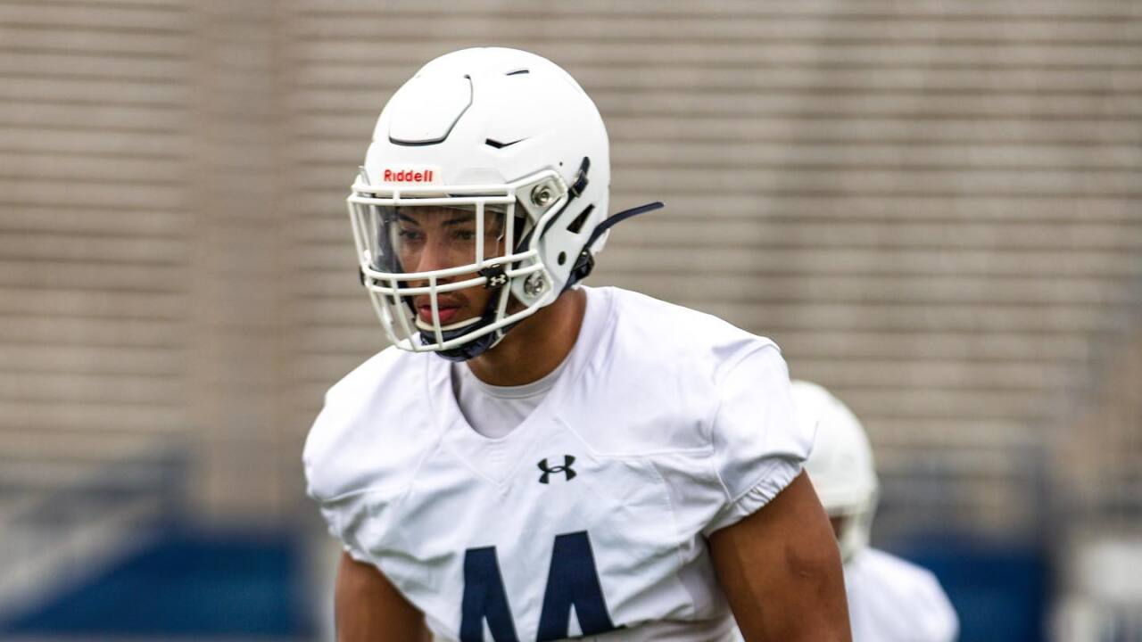Montana State Bobcats senior Daniel Hardy has found his 'real position' at defensive end