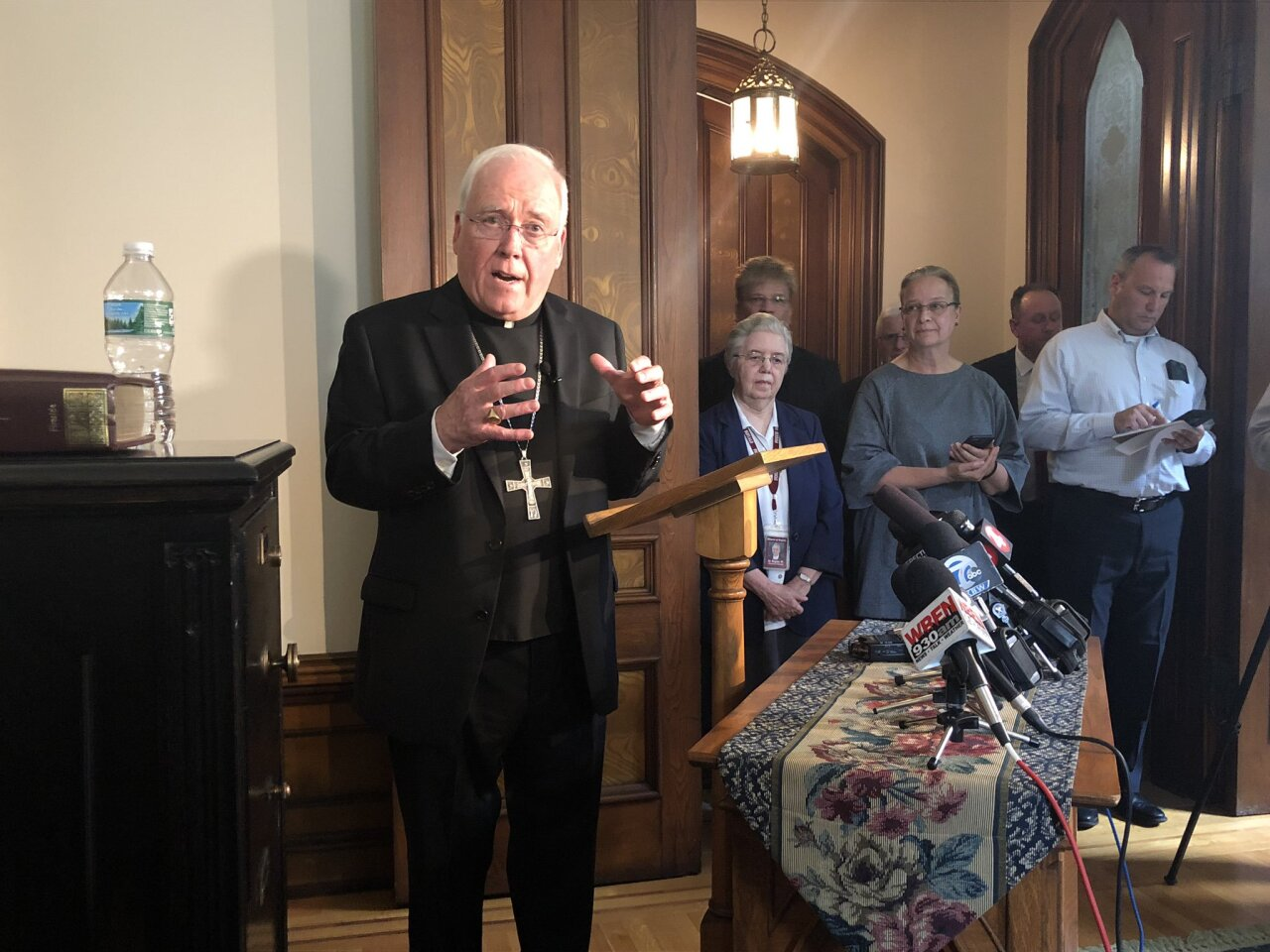 How Western New Yorkers are reacting to Bishop Richard Malone's resignation