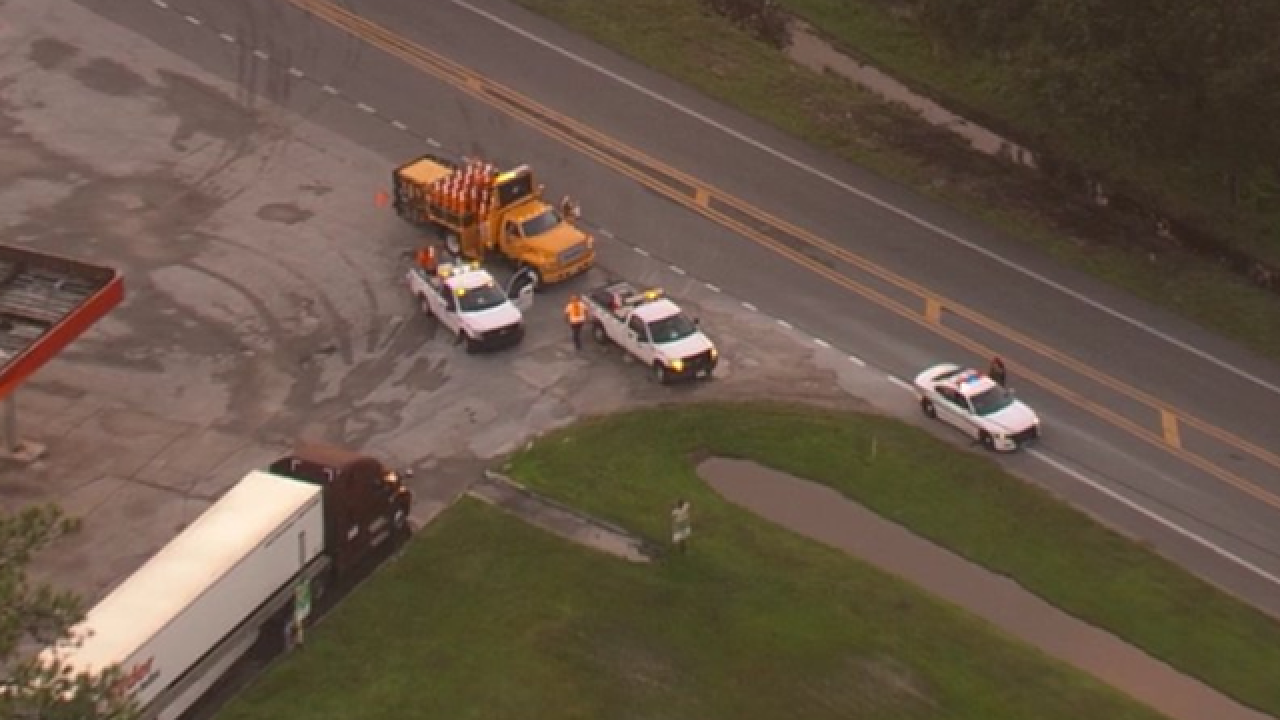 Pedestrian struck, killed by box truck in Lakeland