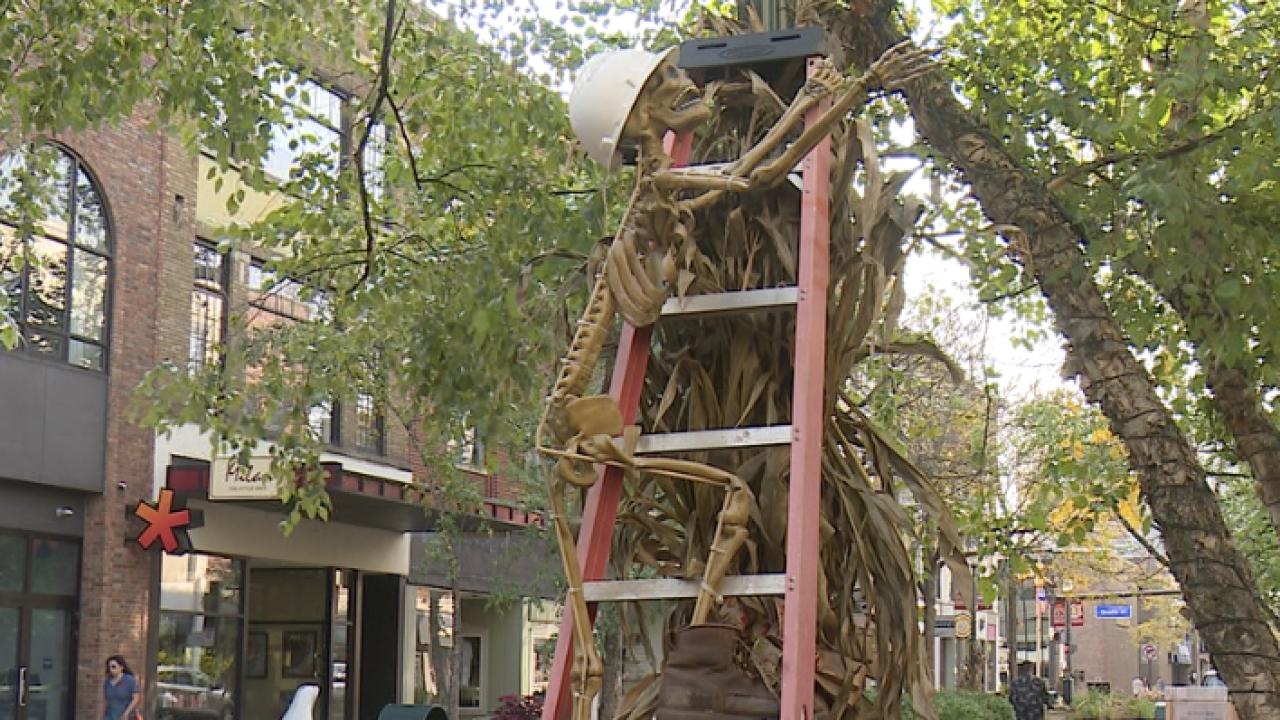 Skeletour in Downtown Kalamazoo