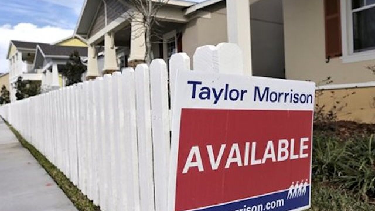 US new home sales reach 8-year high