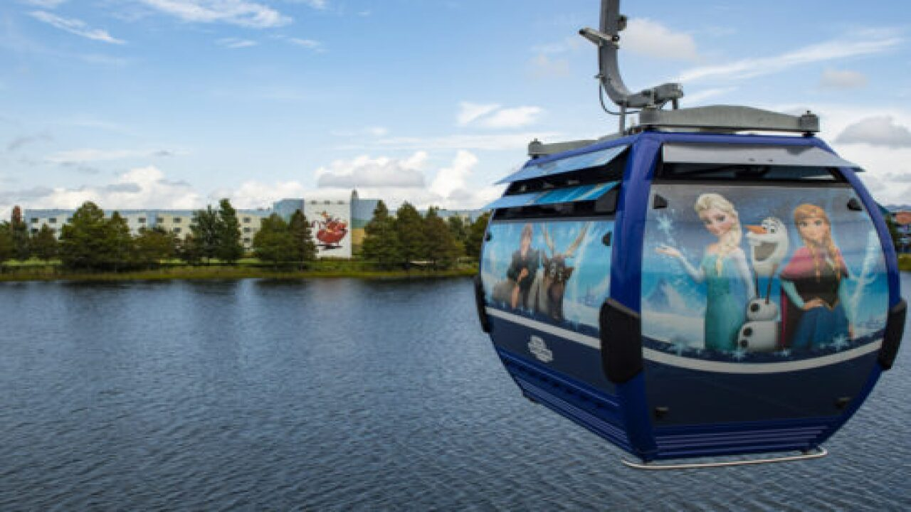 We Just Rode Disney's New Skyliner Gondola System—and It's Going To Be A Game-changer