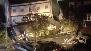 At least 22 injured after decks collapse during firefighter event in New Jersey