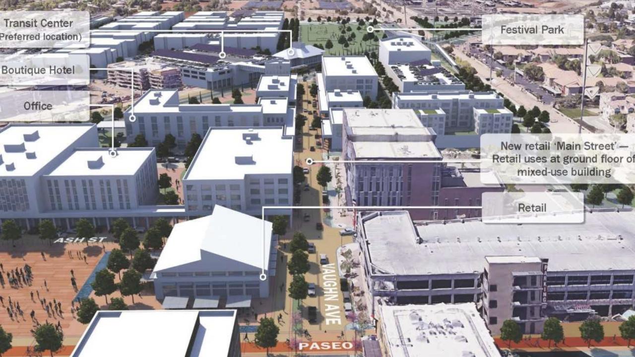 Downtown Gilbert renderings