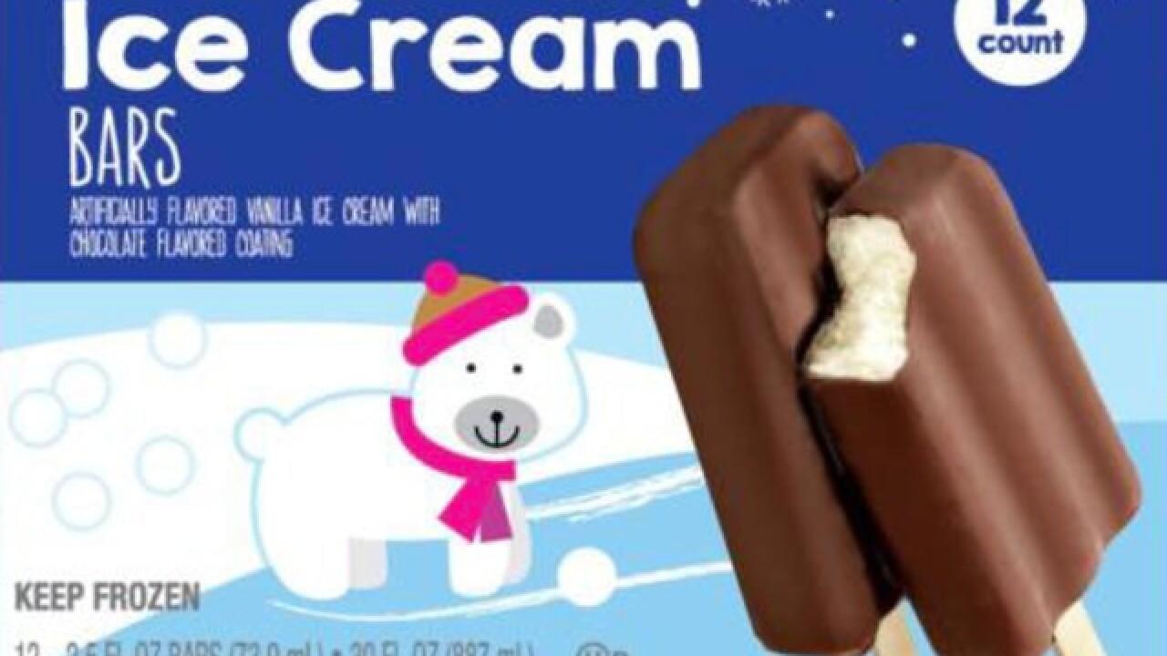 Ice cream bars sold at Aldi, Kroger recalled