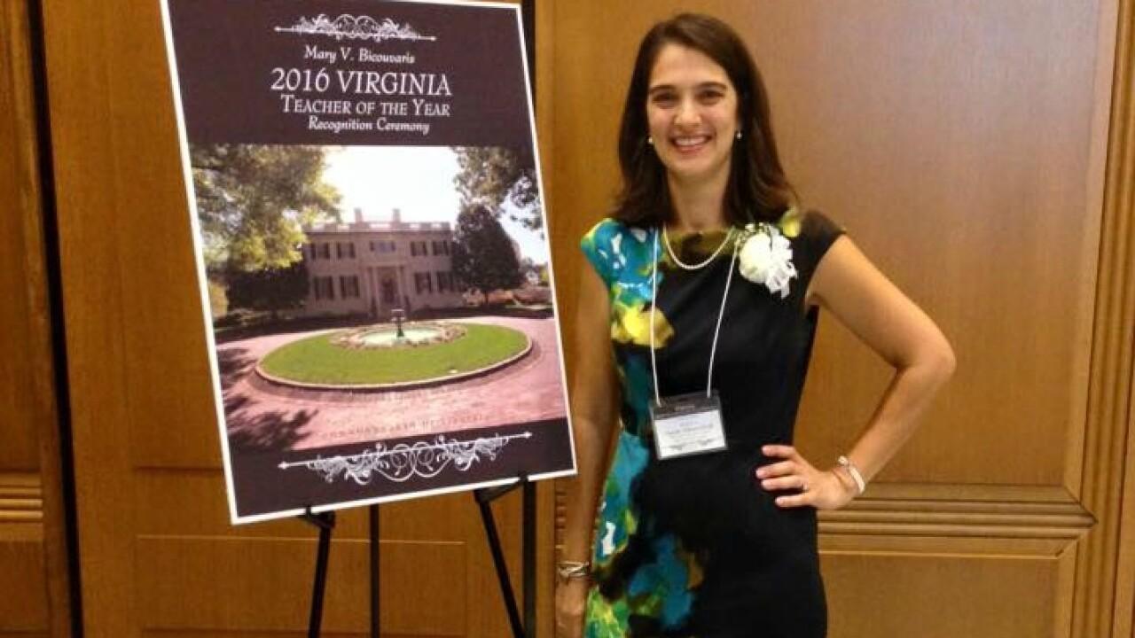 Salem teacher named 2016 Virginia Teacher of theYear