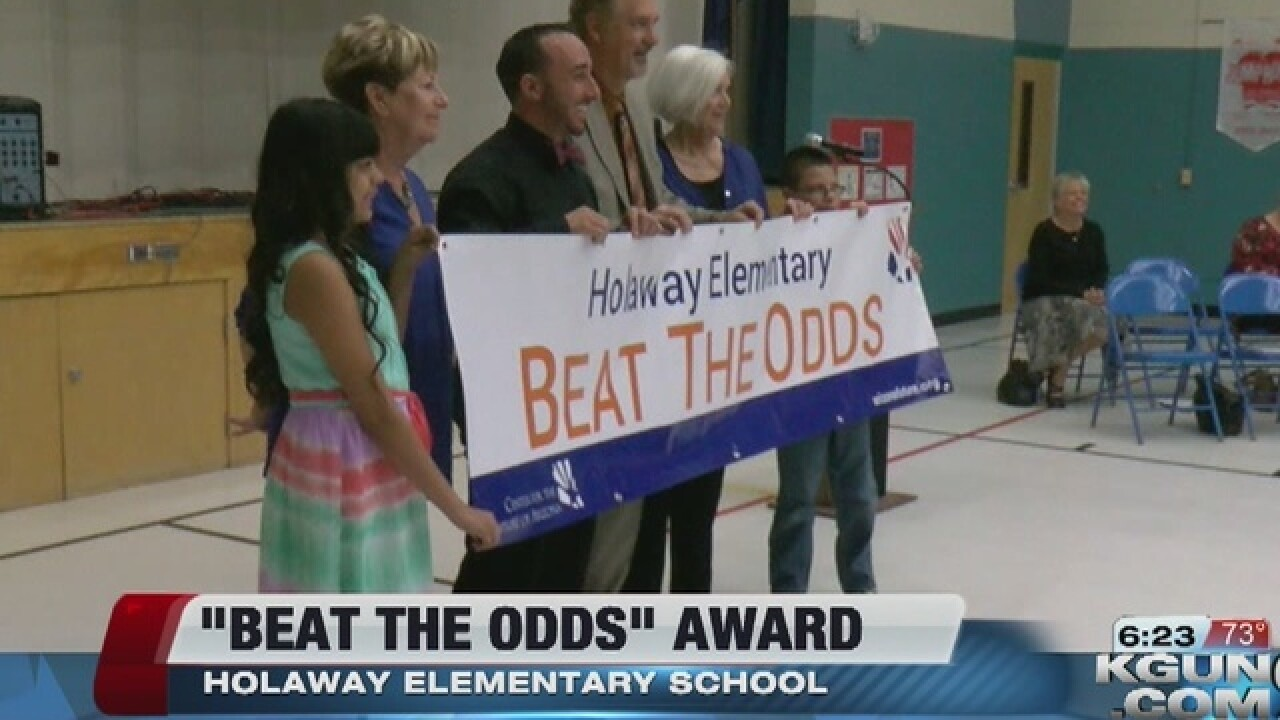 Holaway Elementary has beat the odds