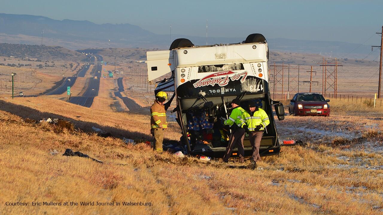 Courtesy Eric Mullens Walsenburg crash