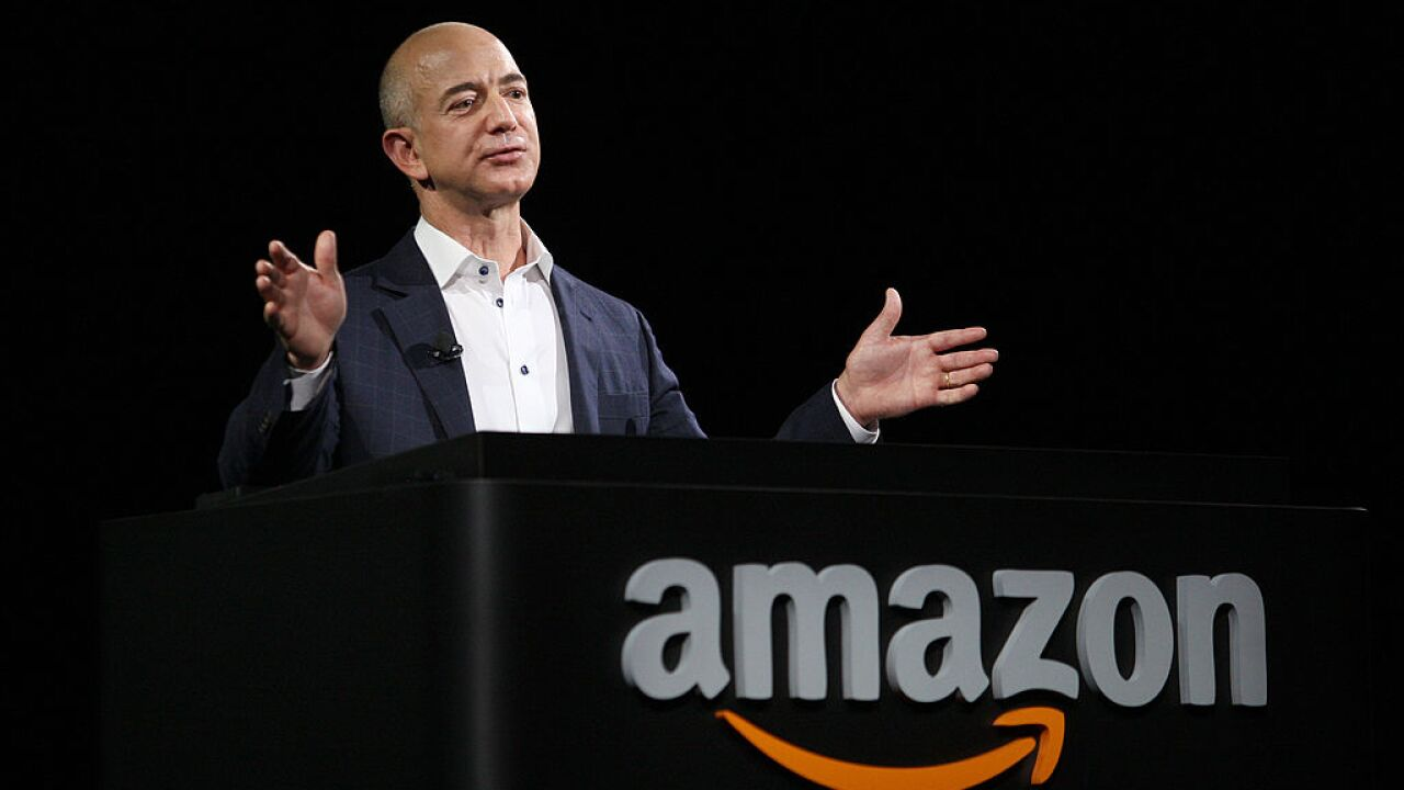 Amazon is about to become America's second $1 trillion company