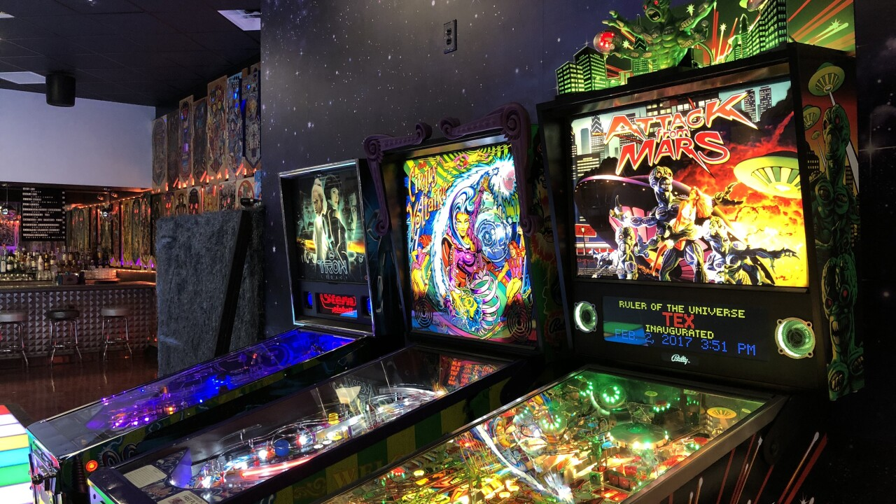 Starbust Pinbar Arcade