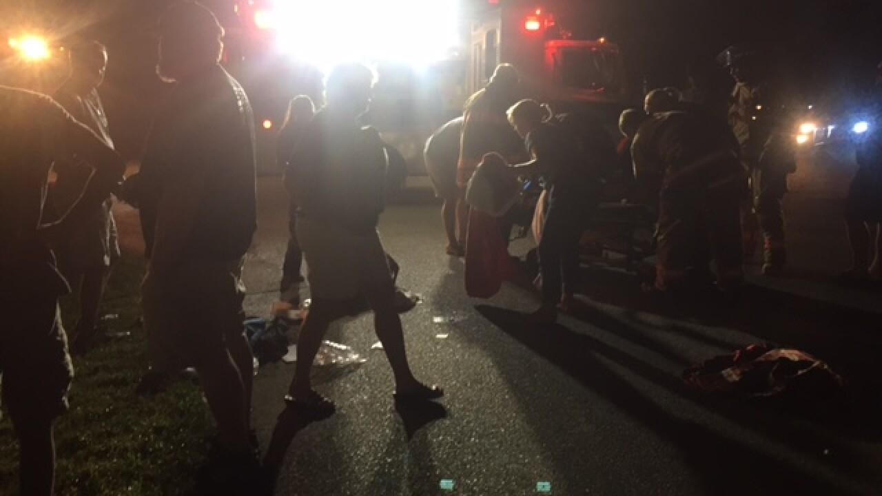Driver speeds off after hitting woman walking in Mechanicsvilleneighborhood